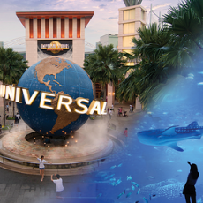 Native App – Special Bundle: Universal Studios Singapore + S.E.A. Aquarium