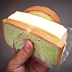 Ice-cream bread